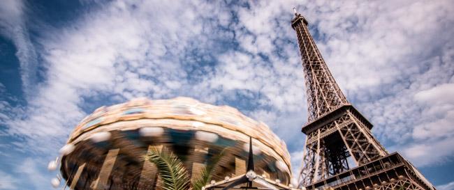 Paris Tour Eiffel Manège