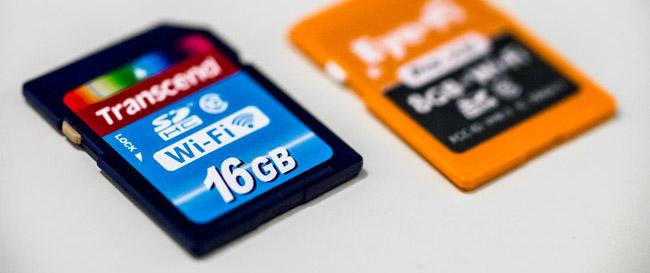 Cartes Wifi SD